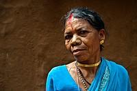 Woman from Bastar region ( Chhattisgarh state, India).