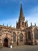Minster Church of All Saints Rotherham a Site of Christian Worship for over 1000 Years South Yorkshire England.