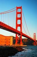 Golden Gate Bridge and Ft Ross.