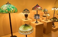 Winter Park Florida Charles Hosmer Morse Museum of American Art Tiffany stained glass museum Tiffany Lamps.