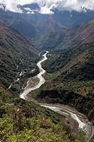 Inca's way . Peru.