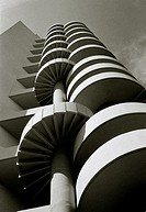 Le Brasilia Building in Marseille in Provence in Bouches du Rhone in France in Europe. Architect Fernand Boukobza.
