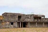 Battery Russell, Fort Stevens, area of Warrenton, Astoria, Oregon, USA, America.