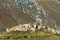 Cadi-Moixero Natural Park, Josa del Cadi Village, Alt Urgell, Lleida, Catalunya, Spain.