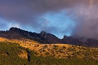 Cadi-Moixero Natural Park, Pedraforca Peak, Alt Urgell, Lleida, Catalunya, Spain.