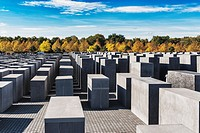 The Holocaust memorial is a monument to the murdered Jews of Europe. The memorial was designed by Peter Eisenman. It consists of 2711 concrete steles....