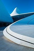 Zaha Hadid Architect Building, Heydar Aliyev Center, Baku City, Azerbaijan, Middle East.