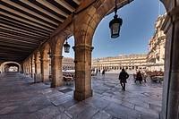 Main Square, Plaza Mayor, Salamanca, Spain