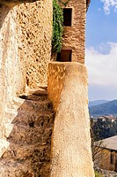 Lookout Tower Portugueses, Bocairent, Vall de Albaida, Valencia, Spain.
