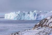 Icefjord, Ilulissat, Greenland.