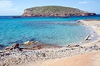 Comte Beaches and Islands, Ibiza, Spain.