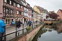 Colmar village in Alsace France
