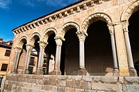Cover of the Romanesque church of San Esteban - XIII Century - Segovia - Castilla-León - Spain - Europe.