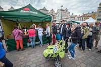 Pilsen Fest 2015 on Square of the Republic in Pilsen city, Czech Republic.