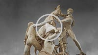 2nd century AD Roman marble sculpture known as the Farnese Bull from the Baths of Caracalla, Rome, Farnese Collection, Naples Museum of Archaeology, I...