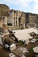 Rome (Italy). Trajan's Market in the historic city of Rome.