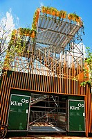 There is a lot of construction going on near the train station in Maastricht. The 'Klim Op' tower has been placed here and provides an elevated view o...