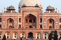 Humayun's tomb, located in New Delhi, India.