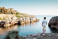 En Brut cove, Minorca, Balearic Islands.