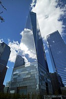one world trade center building New York City USA.