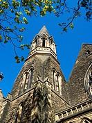 Harrogate Baptist Church in Spring Harrogate North Yorkshire England.