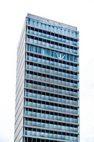 High-rise building in Eindhoven, The Netherlands.