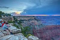 South Rim of Grand Canyon, Arizona, United States.