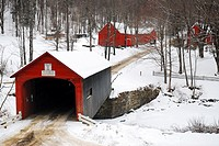 Country Covered Bridge.