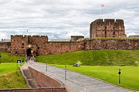 Carlisle, England, UK. Carlisle Castle, 11th. Century.