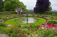 Heywood Gardens on a wet rainy day. Still beautiful the gardens were designed by the famous architect, Sir Edwin Lutyens and probably landscaped by Ge...