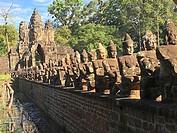 Angkor Thom. Bayon Temple, Cambodia.