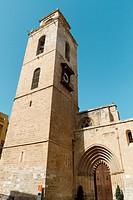 Salvador and Santa Maria cathedral, Orihuela, Alicante, Spain.