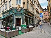 Engelen pub in Gamla Stan, Stockholm, Sweden.