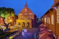 Malaysia, Malacca state, Malacca, Unesco Wold Heritage, Christ Church, 1753.
