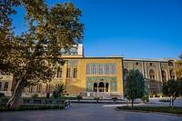 Karim Khani Nook (Khalvat e Karim Khani) residence in Golestan Palace, former royal Qajar complex in Tehran, Iran.