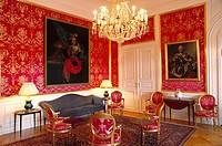 Amalienborg Palace, Prince Henry room. Copenhagen. Denmark