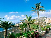 ´Playa de la Arena´ in Puerto de Santiago. Tenerife. Canary Islands. Spain
