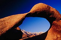 Arch. Alabama Hills. California. USA