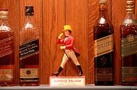 Johnnie Walker whisky distillery, Diageo group. Scotland. UK.