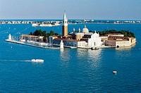 San Giorgio Maggiore church. Venice. Italy.