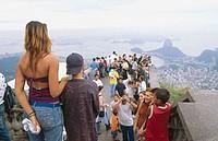 View from the Corcovado, Rio de Janeiro. Brazil, 2005