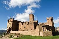 Castillo medieval de Javier, Navarra. Lugar de nacimiento de San Francisco de Javier.