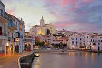 Cadaques in the Costa Brava. Girona province. Catalunya. Spain