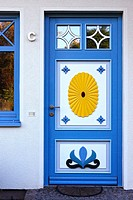 Old Door. Darß, Zingst Peninsula, Mecklenburg-Western Pomerania, Germany