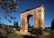 Arc de Barà, Tarragona province. Catalonia. Spain
