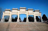 Ming tombs. China