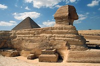 Great Sphinx and Pyramid of Giza