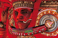 Theyyam, Kerala, India