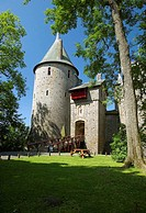 Castell Coch, The Red Castle, Cardiff, South Glamorgan, Wales, UK