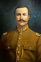 Francisco Coss (1880/1961) general constitutionalist revolutionary Mexican army.